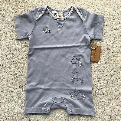 Baby Boys Clothes Olliboo Organic Cotton Summer Romper 9 months