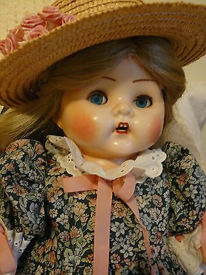 VINTAGE DOLL...AUSTRALIAN CHERUB...1950's beautifully dressed!