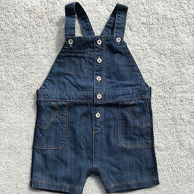 Baby Boys Clothes Fox and Finch Baby Soft Denim Overalls 9 months