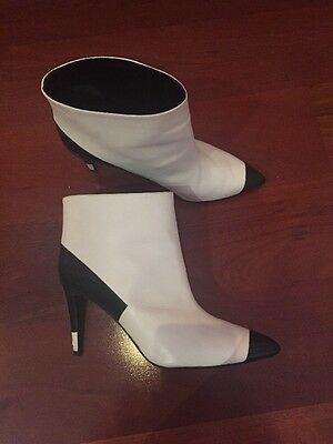 Pierre Hardy Designer Leather Boots Shoes 39 Made In Italy Autumn Winter Shoes