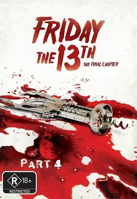 Friday The 13th - The Final Chapter (New Packaging) : Part 4, NEW SEALED REG 4