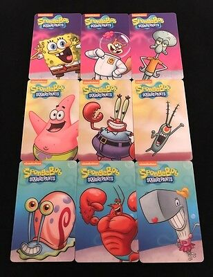 Spongebob Pineapple Arcade Dave and Busters Full Set with Rare Gary Card