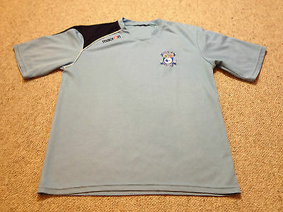 Cardiff City Football Shirt Adult Small Macron  (M2 516)