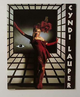 06662 CYNDI LAUPER THE TRUE COLORS TOUR 86-87 JAPAN Program Book