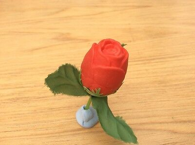 VINTAGE 1980's  RED ROSE ERASER
