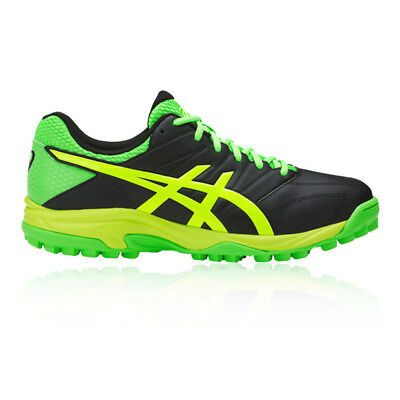 Asics Gel-Lethal MP 7 Mens Green Black Hockey Court Sports Shoes Trainers