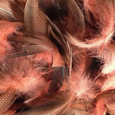 Dusty Pink Mallard Duck Feather Plumage Pack of 10 grams