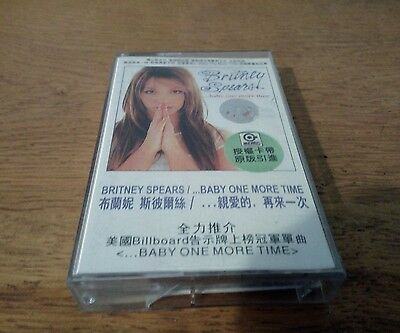 Britney Spears ...Baby one more time Asia Cassette rare