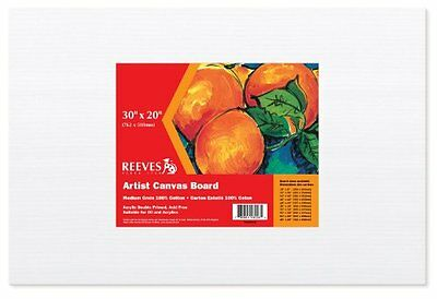 Reeves Canvas Board 30 x 20