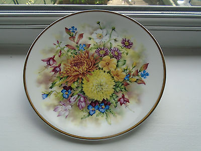 Royal Vale Flowers of the Season Autumn Collectors Plate
