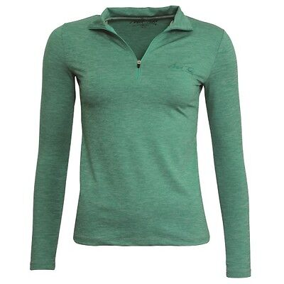 MARK TODD CINDY SECOND SKIN GREEN long sleeve soft jersey machine washable