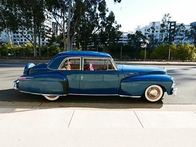 1948 Lincoln Continental Series 876H  Two door coupe 1948 Lincoln Continental 2 door coupe