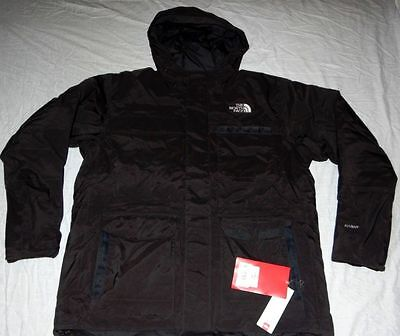 The North Face Caribou Men Jacket Hyvent 550 Fill Down Color Black  $350 Size Xl