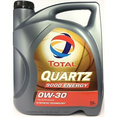 5 Liter TOTAL Quartz 9000 ENERGY 0W-30