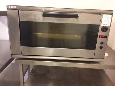 Smeg 4 tray twin fan commercial bake off oven