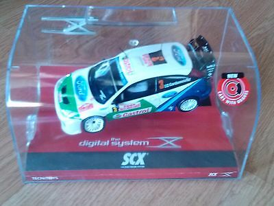 Slot SCX Scalextric Digital System 13090 Ford Focus WRC Rallye Montecarlo 2005