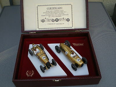 Pink Kar Limited Edition 5th Anniversary Set Mint Boxed Scalextric Compatible