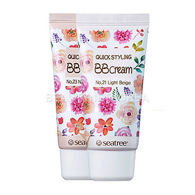 [SEATREE] Quick Styling BB Cream (SPF30/PA++) 2 Color 35g / Korea cosmetic