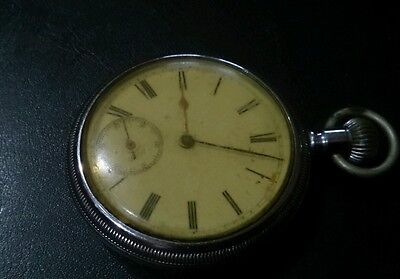 Waltham military WWII vintage pocket watch