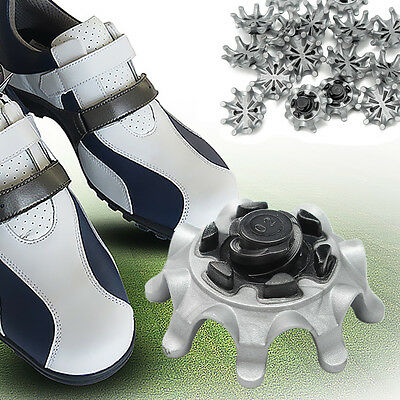 Replacement Golf Shoes Spikes Studs Cleats Fast Twist 16Pcs For Tri-Lok Footjoy
