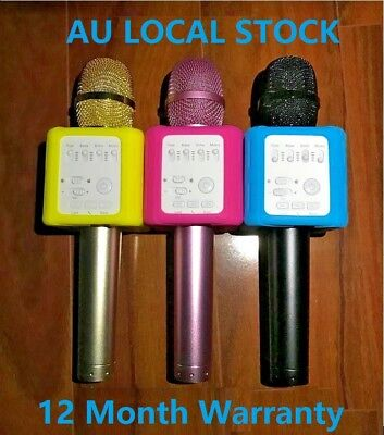New MICGEEK Q9S BLUETOOTH KARAOKE MICROPHONE UPGRADED DSP MORE CLEAR SOUND