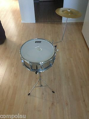 Powerbeat Snare Drum with Stand & Cymbal
