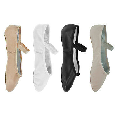 Bloch '209' Arise Leather Ballet Shoes - B (Narrow Fit) and C (Medium Fit)
