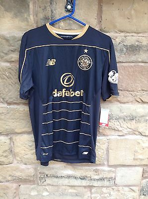 Brand New With Tags Celtic FC 2016/17 New Balance Playing Away Shirt Medium