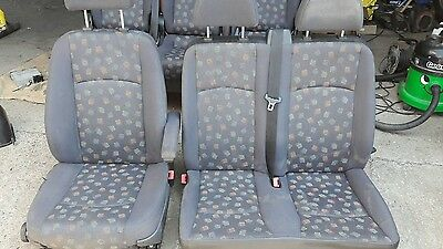 Mercedes Vito dualiner Front and Rear Seats 639 Model 2+1  comfort  version