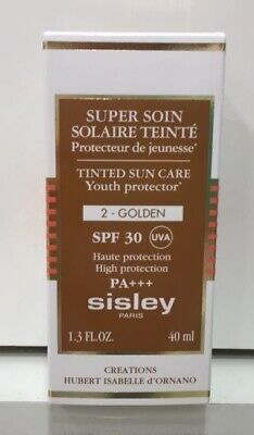 Sisley Tinted Sun Care Youth Protector  2-Golden Spf 30 ,40 Ml