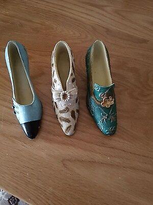 3 ornamental shoes