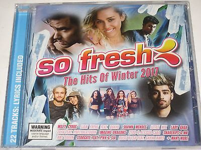 SO FRESH the hits of winter 2017 cd NEW/SEALED