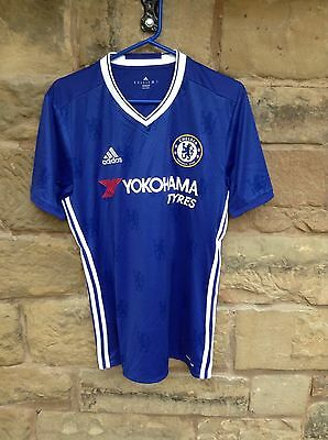 Brand New With Tags Chelsea FC 2016/17 Adidas Home Shirt Blue Medium Matic 21