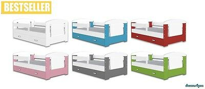 NEVILLE bed for kids toddler COLOR 160x80 cm DRAWER FREE mattress GOOD QUALITY!