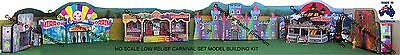 HO Scale Carnival Sideshow Circus Low Relief Model Railway Building Kit - CSSPK