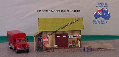 HO Scale Freight Depot Model Railway Building Kit - REFD1