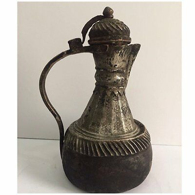 A very old Arabic dallah a coffee pot   Antiquities