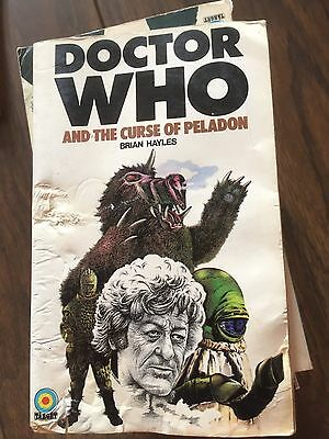 Doctor Who and the CURSE OF PELADON by BRIAN HAYLES Paperback,