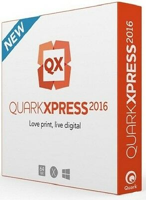 QuarkXPRESS 2016 Download Only