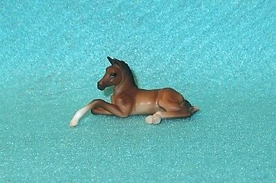 Breyer Stablemate Cute Bay Lying Down Foal #5391 New