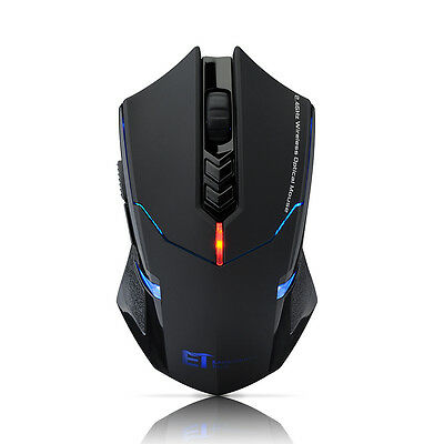 2000DPI LED USB Wireless Professional Gaming Mouse Mice for PC Laptop Mac UK NEW