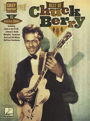 Best of Chuck Berry Easy Guitar TAB Music Book