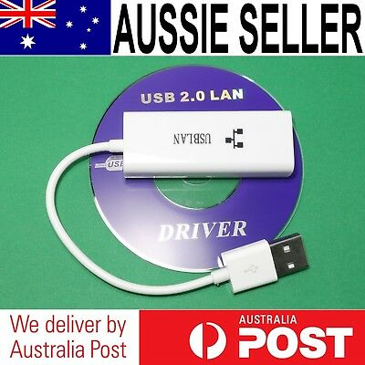USB 2.0 to RJ45 LAN Ethernet Adapter (AX88772B) Mac Windows Android Linux
