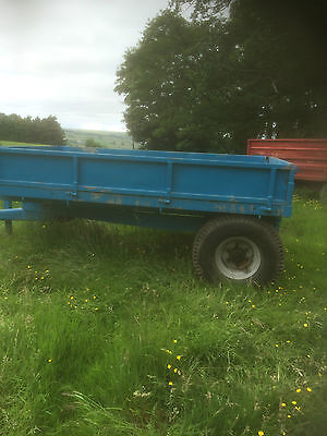 Small 4 Tonne Hydraulic Tractor Tipper Tipping Trailer £800+ VAT
