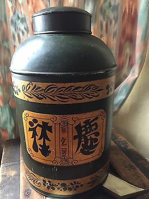 Chinese 19th Century Toleware Tea Urn