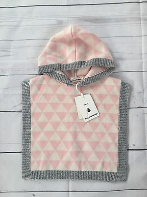BNWT COUNTRY ROAD Baby Knit Cape / Poncho Size S