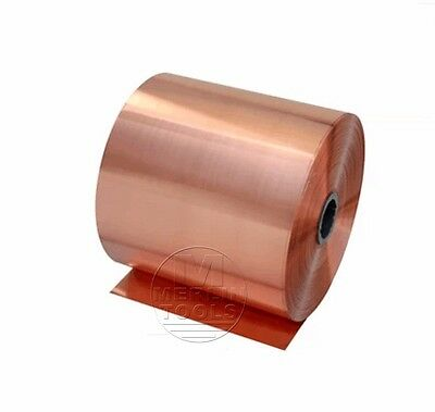 Select Thick 0.01mm - 1.0mm Copper Sheet Strip Foil Blank Plate Block 100 200mm