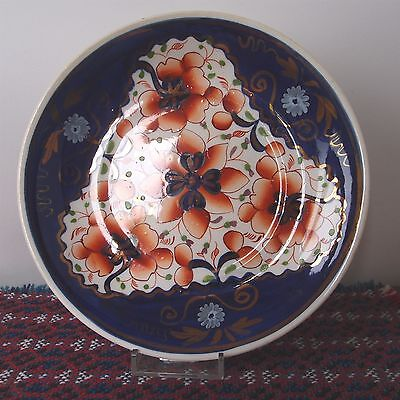 "Antique Gaudy Welsh Round Plate 20cm /7¾"" - #101"