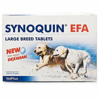 Synoquin EFA Capsules Large Breed Dog (Over 25kg) - Pack of 120