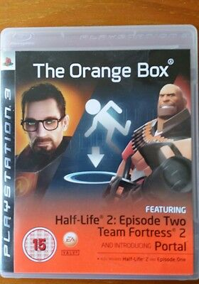 The Orange Box For PS3 half life 2 Boxed with manual playstation 3 pal